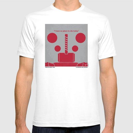 No232 My THOR minimal movie poster T-shirt