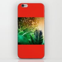palms iPhone & iPod Skins featuring PALMS by Teresa Madruga