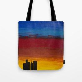City Morning Tote Bag