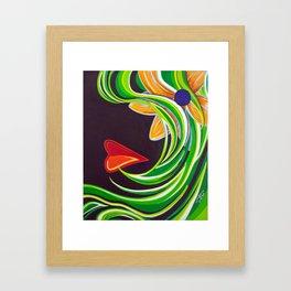 Sensual Yearning Framed Art Print