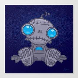 Sad Robot Canvas Print