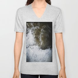 swallowed in the sea part 2 Unisex V-Neck