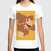 donkey kong T-shirts featuring Donkey Kong(Smash) by samaran