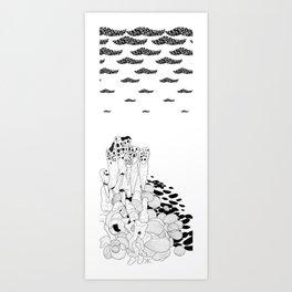Hundertwasser's Teeth Art Print