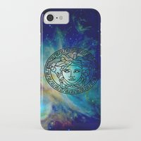 versace iPhone & iPod Cases featuring Versace Nebula  by RickyRicardo787