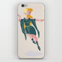 elf iPhone & iPod Skins featuring Elf by lueurlunaire (Chloe Losch)