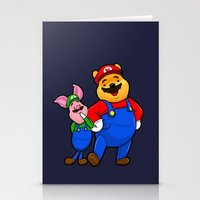 pooh Stationery Cards featuring bear pooh by NORI