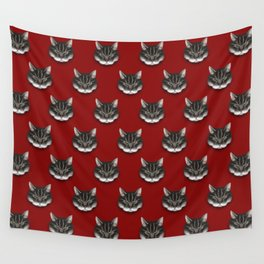 sinister kitty Wall Tapestry