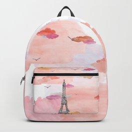 Eiffel Tower - Summer evening Backpack