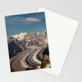 ALASKA I: Ruth Glacier beneath Denali ~ The Great One ~ Mt. McKinley Stationery Cards