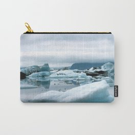 Ice Antartica Carry-All Pouch