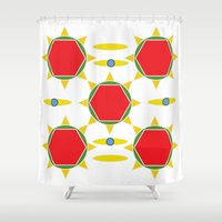 power Shower Curtains featuring Power by Marie Mirbekian(JM)