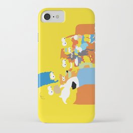 The Simpsons - Family iPhone Case