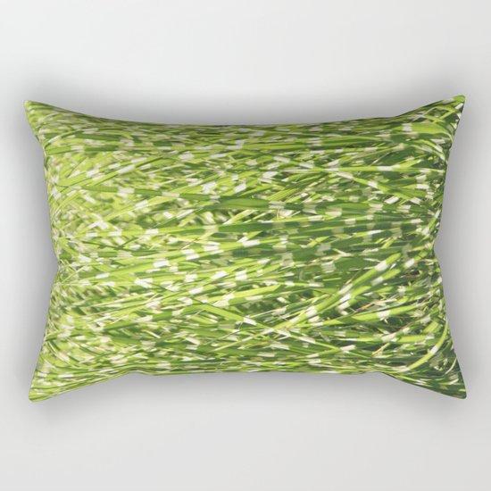 Fresh green Rectangular Pillow