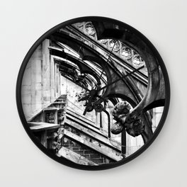 untitled (depth of faith) Wall Clock