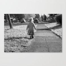 little walks Canvas Print