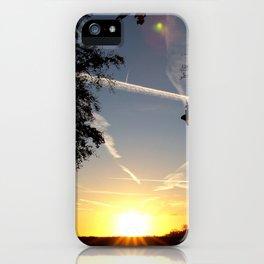 Contrails iPhone Case