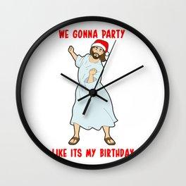 Go Jesus! its your Birthday! Wall Clock