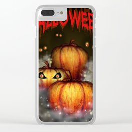 Holiday of halloween Clear iPhone Case