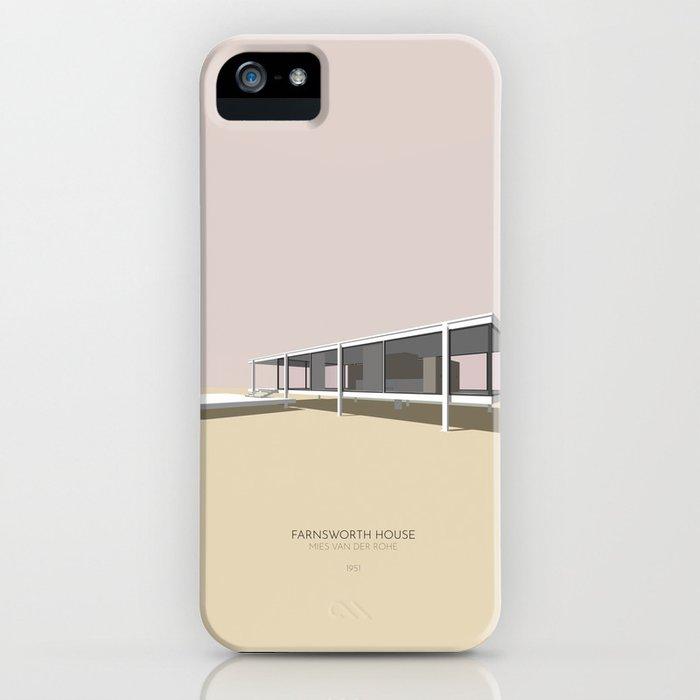 Farnsworth House Mies van der Rohe iPhone Case