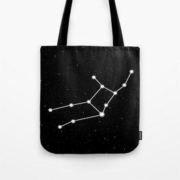Virgo Astrology Star Sign Night Sky Tote Bag