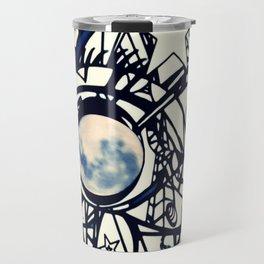 Moon Scaffolding Travel Mug