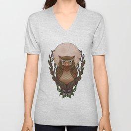 Owly Unisex V-Neck