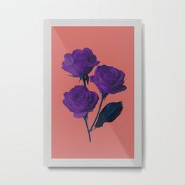 Les Fleurs du Mal Metal Print