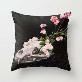 Carnivora Floret Throw Pillow