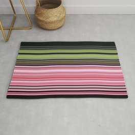 Strawberry lime licorice all sorts Rug
