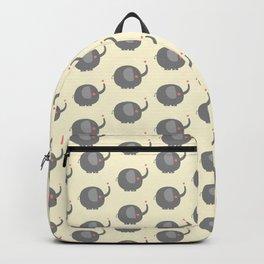 Baby Elephant Illustration Backpack