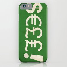 Subliminal Currency Slim Case iPhone 6s