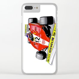 Gilles Clear iPhone Case