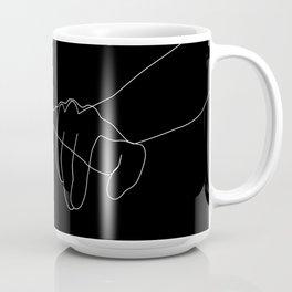 Black Pinky Swear Coffee Mug