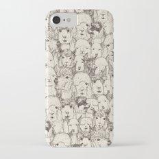 just alpacas natural iPhone 7 Slim Case