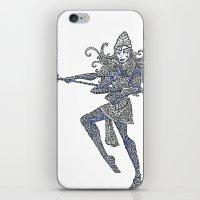 shiva iPhone & iPod Skins featuring Shiva by KittenDCute