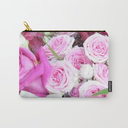 A Sea Of Roses #1 #decor #art #society6 Carry-All Pouch