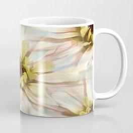 Painterly Seamless Pink Zinnia Coffee Mug