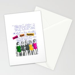 Living Apart Together Stationery Cards