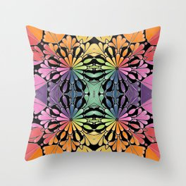Summer flowering Throw Pillow
