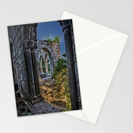 Medieval Castle at night Stationery Cards