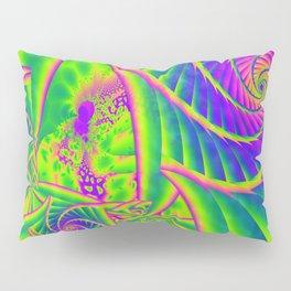 Dingle Berries Psychedelic Fractal Pillow Sham