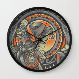 Mysctical Interlude Wall Clock