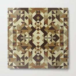 Playful Geometry Metal Print