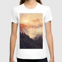hiking T-shirts featuring In My Other World by Tordis Kayma