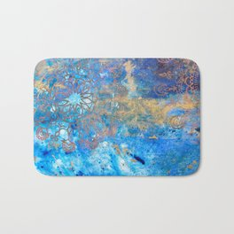 Mindfulness poetry Bath Mat