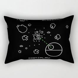 Retro Star Wars Arcade Alderaan Asteroids Rectangular Pillow