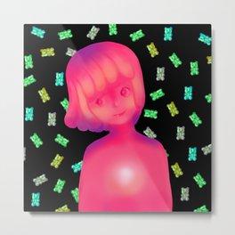 Gummy girl Metal Print