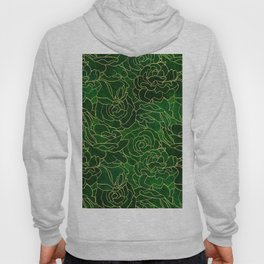 ABSTRACT FLORAL 3 Hoody