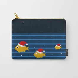 fishes and night Carry-All Pouch